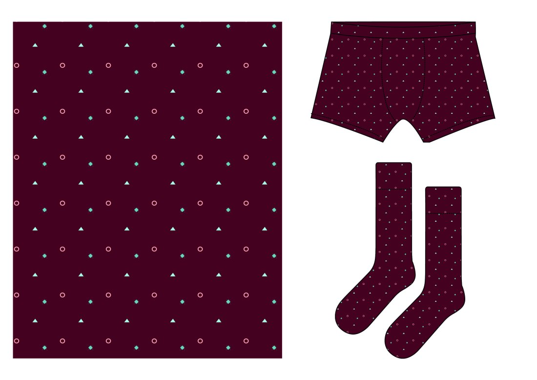 boxer shorts geo-01