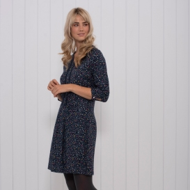 DITSY PRINT DRESS S
